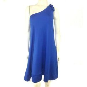 Diane von Furstenberg Giri One Shoulder Dress